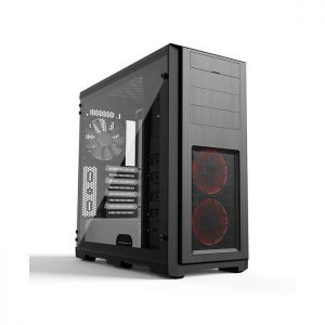 PHANTEKS ENTHOO PRO (E-ATX) Full Tower Cabinet - With Tempered Glass Side Panel And Halos RGB Fan Frames (White)