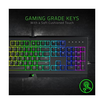 Razer Cynosa Chroma – Multicolour Membrane Gaming Keyboard – US Layout