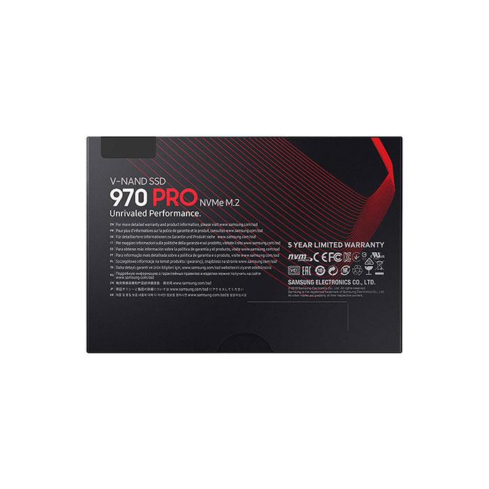 SAMSUNG 970 PRO 512GB M.2 NVMe Internal SSD