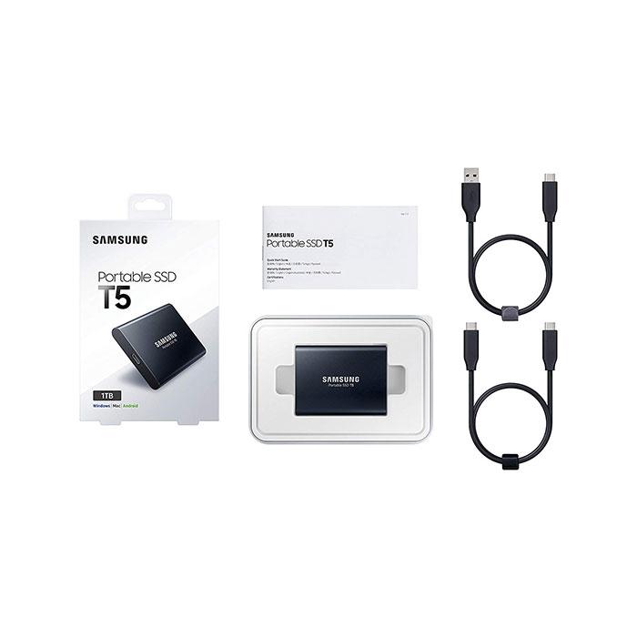 SAMSUNG T5 1TB External Portable SSD