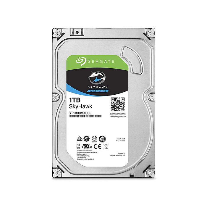 SEAGATE 1TB 5900 RPM Skyhawk Surveillance Desktop Internal Hard Drive (ST1000VX005)