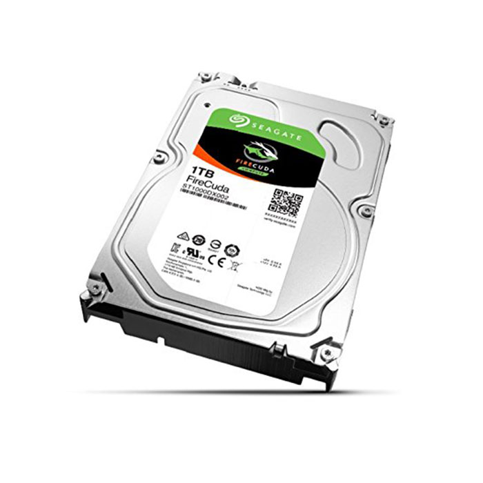 SEAGATE 1TB 7200 RPM Firecuda Desktop Internal Solid State Hybrid Drive