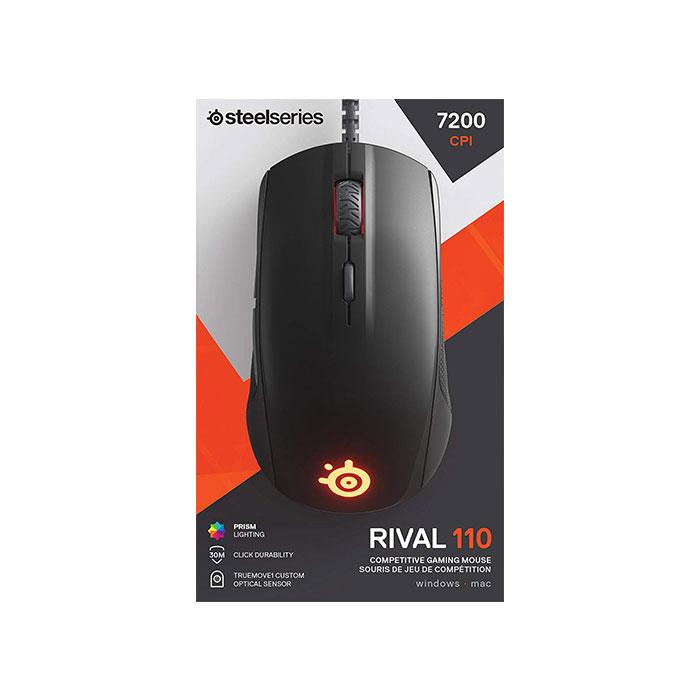 SteelSeries Rival 110 Matte Black Mouse