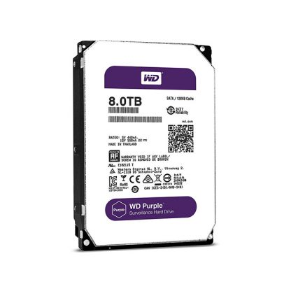 WESTERN DIGITAL DESKTOP HARD DRIVE 8TB PURPLE