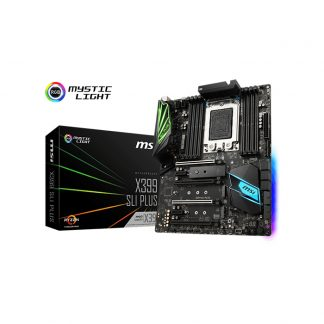 MSI X399 SLI PLUS AMD STR4 RYZEN THREADRIPPER SERIES MOTHERBOARD
