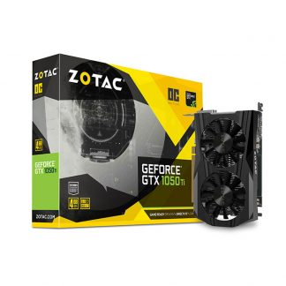ZOTAC GeForce GTX 1050 Ti OC ZT-P10510B-10L GRAPHIC CARD