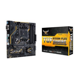 ASUS TUF B350M PLUS GAMING Motherboard (Amd Socket AM4/Ryzen Series CPU/Max 64GB DDR4-3200MHz Memory)