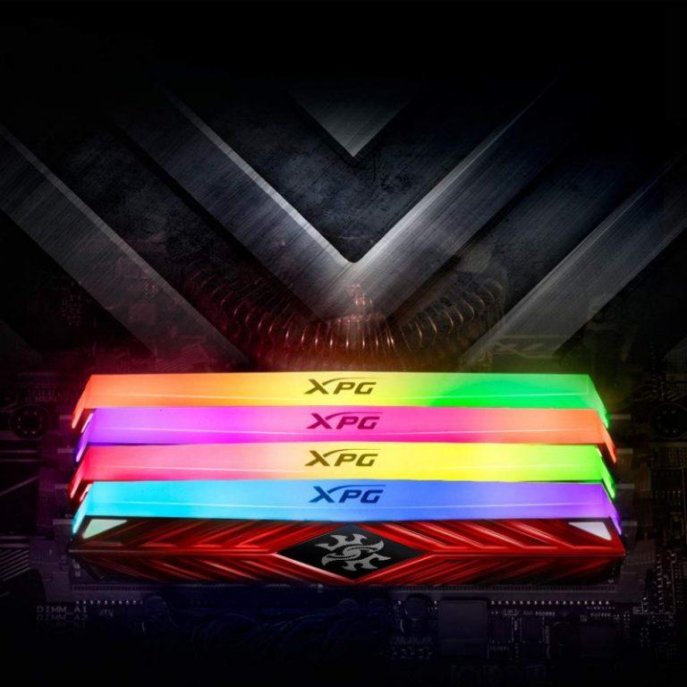 ADATA XPG SPECTRIX D41 8GB (8GBX1) DDR4 RGB 3600MHZ RAM (AX4U360038G17-SR41)