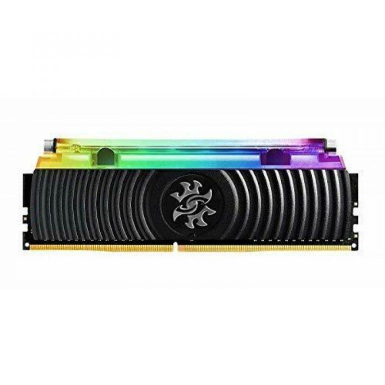 ADATA XPG SPECTRIX D80 8GB (8GBX1) DDR4 3000MHZ RGB LIQUID COOLING BLACK EDITION RAM (AX4U300038G16-SB80)