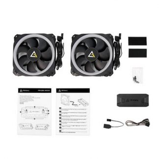 ANTEC PRIZM 140 ARGB SINGLE PACK CABINET FAN