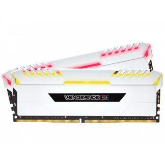 CORSAIR 16GB (8GBX2) DDR4 - 3000 MHZ C16 VENGEANCE RGB SERIES RAM (CMW16GX4M2C3000C15)