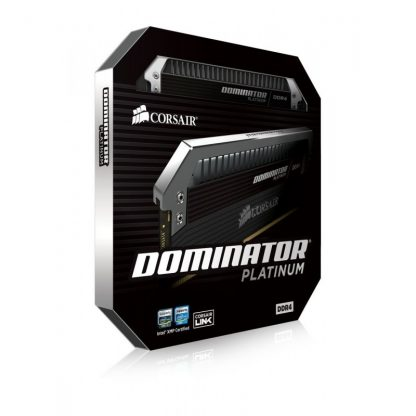 CORSAIR DOMINATOR PLATINUM 16GB (2X8GB) DDR4 DRAM 3200 MHZ C16 RAM (CMD16GX4M2B3200C16)