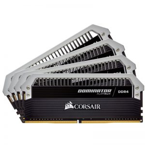 CORSAIR DOMINATOR PLATINUM 64GB (4X16GB) DDR4 DRAM 3000MHZ C15 RAM (CMD64GX4M4C3000C15)