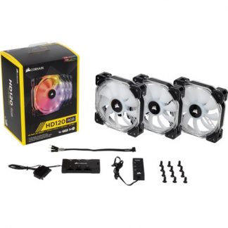 CORSAIR HD120 LED RGB 120MM PWM CABINET FAN