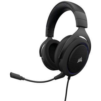 CORSAIR HS50 STEREO BLUE (AP) GAMING HEADSET (CA-9011172-AP)