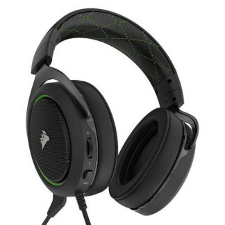 CORSAIR HS50 STEREO GREEN (AP) GAMING HEADSET (CA-9011171-AP)