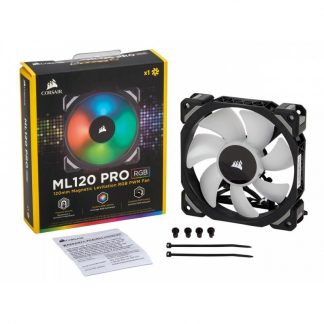 CORSAIR ML120 PRO RGB LED 120MM PWM CABINET FAN
