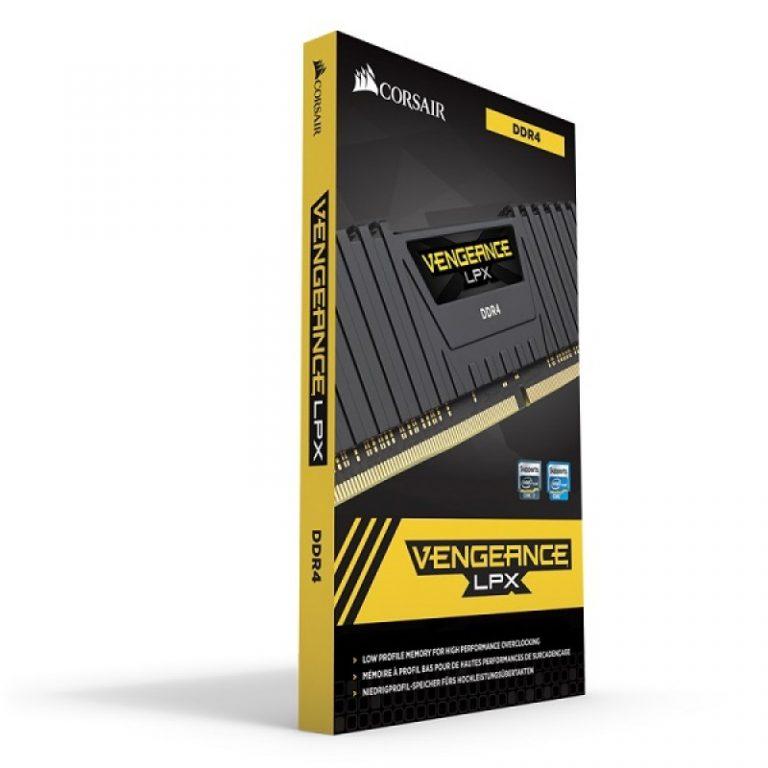 CORSAIR VENGEANCE LPX 16GB (1x16GB) DDR4 3200MHZ C16 DESKTOP RAM - BLACK (CMK16GX4M1E3200C16)