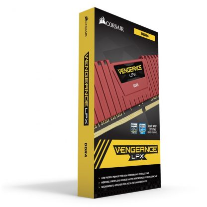 CORSAIR VENGEANCE LPX 8GB (1X8GB) DDR4 DRAM 2400MHZ C16 BLACK RAM (CMK8GX4M1A2400C16)