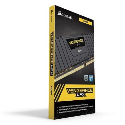 CORSAIR VENGEANCE LPX 8GB (1x8GB) DDR4 3200MHZ C16 DESKTOP RAM - BLACK (CMK8GX4M1E3200C16)