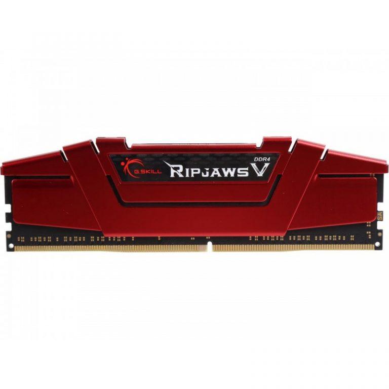 G.SKILL 16GB (16GB x 1) DDR4 - 3000 MHZ RIPJAWS V SERIES RAM (F4-3000C16S-16GVRB)