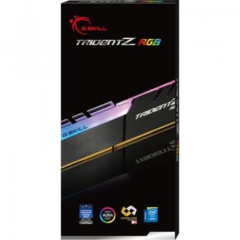 G.SKILL 16GB (16GBx1) DDR4 – 3200MHZ TRIDENT Z RGB SERIES RAM (F4-3200C16S-16GTZR)