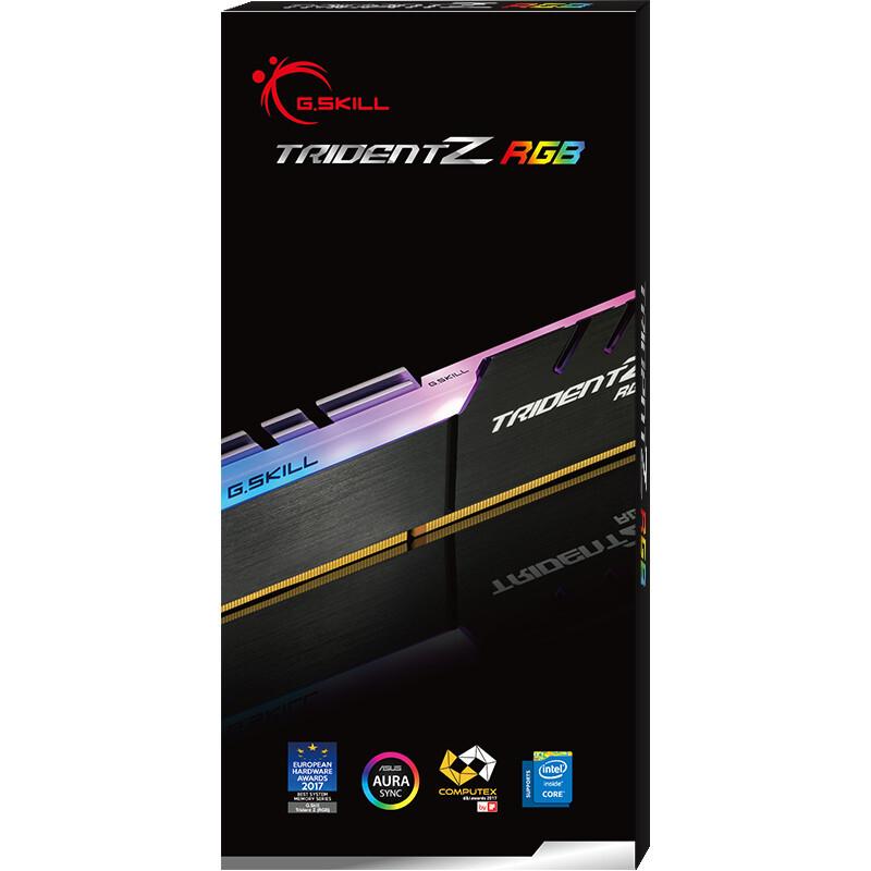 G.SKILL 16GB (16GBx1) DDR4 - 3200MHZ TRIDENT Z RGB SERIES RAM (F4-3200C16S-16GTZR)