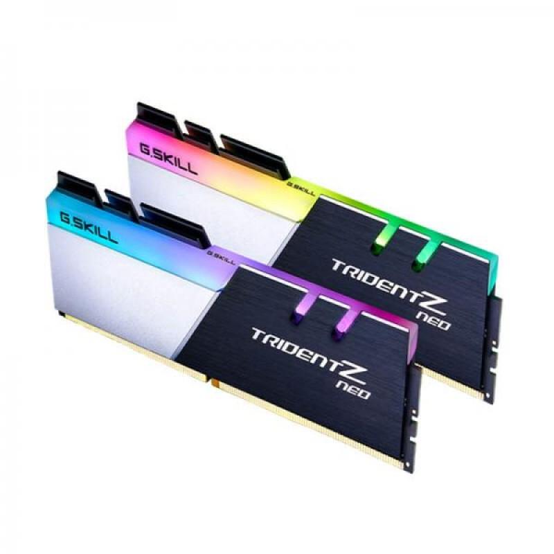 G.SKILL 16GB (8GBX2) 3200 MHZ DDR4 TRIDENT Z NEO RGB RAM (F4-3200C16D-16GTZN)