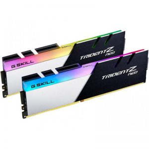 G.SKILL 16GB (8GBX2) 3600 MHZ DDR4 TRIDENT Z NEO RGB RAM (F4-3600C16D-16GTZNC)