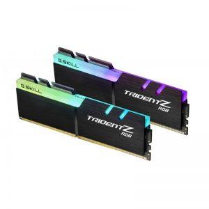 G.SKILL 16GB (8GBX2) DDR4 - 3200 MHZ TRIDENT Z RGB SERIES RAM (F4-3200C16D-16GTZR)