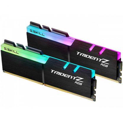 G.SKILL 16GB (8GBX2) DDR4 - 3600 MHZ TRIDENT Z RGB SERIES RAM (F4-3600C17D-16GTZR)