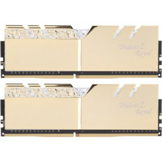 G.SKILL 16GB (8GBx2) DDR4 - 3200MHZ TRIDENT Z ROYAL SERIES RAM (F4-3200C16D-16GTRG)