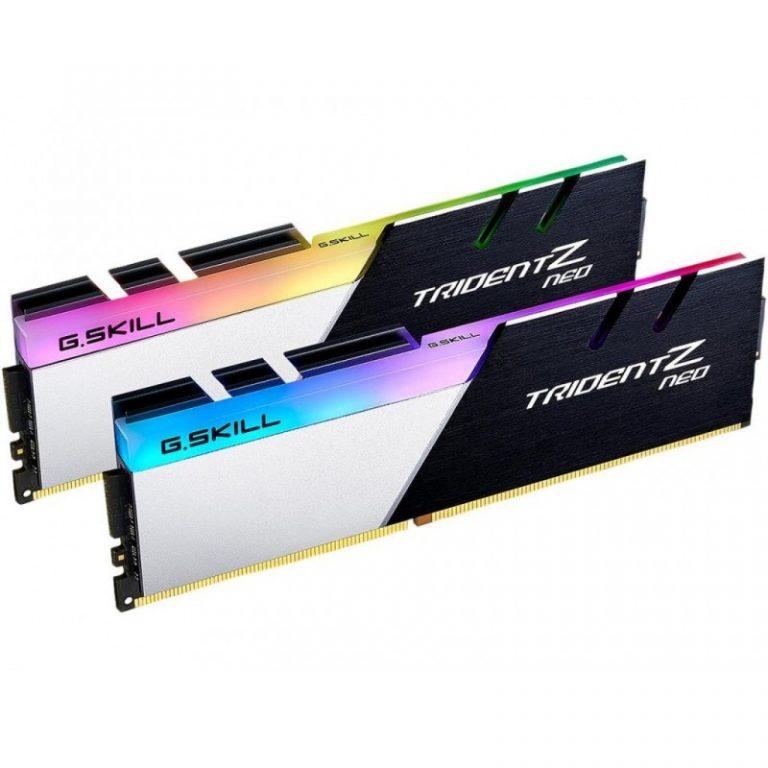 G.SKILL 32GB (16GBX2) 3000 MHZ DDR4 TRIDENT Z NEO RGB RAM (F4-3000C16D-32GTZN)
