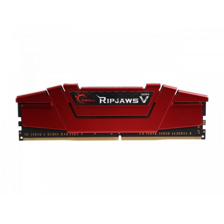 G.SKILL 8GB (8GB x 1) DDR4 - 2400 MHZ RIPJAWS V SERIES SINGLE CHANNEL KIT RAM (F4-2400C17S-8GVR)