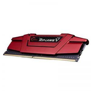 G.SKILL 8GB (8GB x 1) DDR4 - 3000 MHZ RIPJAWS V SERIES C16S RAM (F4-3000C16S-8GVRB)