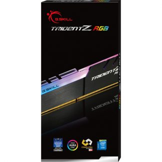 G.SKILL 8GB (8GBX1) DDR4 - 3200MHZ TRIDENT Z RGB SERIES RAM(F4-3200C16S-8GTZR)