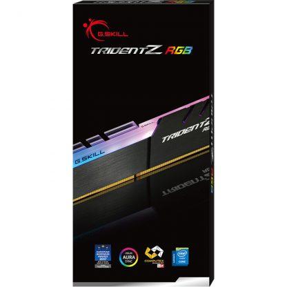 G.SKILL 8GB (8GBx1) DDR4 - 3000 MHZ TRIDENTZ RGB SERIES RAM (F4-3000C16S-8GTZR)