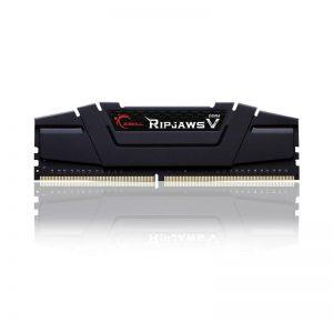 G.SKILL 8GB (8GBx1) DDR4 - 3200 MHZ RIPJAWS V SERIES RAM (F4-3200C16S-8GVKB)