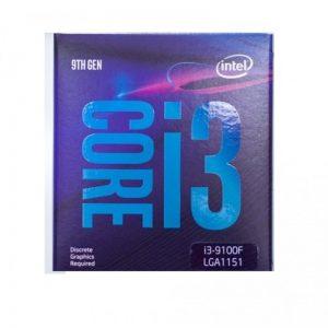 intel core i3 9100f 9th gen processor