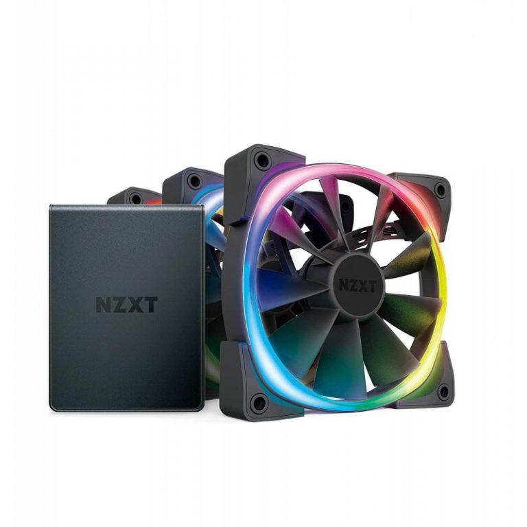 NZXT AER RGB 2 STARTER KIT 120MM TRIPLE PACK CABINET FAN (HF-2812C-T1)