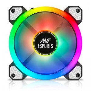 ANT ESPORTS SUPERFLOW 120 AUTO RGB V2 1200 RPM CABINET FAN