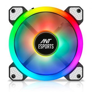 ANT ESPORTS SUPERFLOW 120 AUTO RGB V2 1200 RPM CABINET FAN