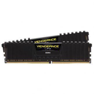 CORSAIR VENGEANCE LPX 16GB (2 x 8GB) DDR4 DRAM 3600MHz C18 Memory Kit - Black (CMK16GX4M2D3600C18)