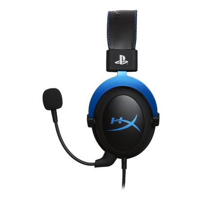 HyperX Cloud Blue Gaming Headset - PlayStation® Official Licensed for PS4™ (HX-HSCLS-BL/EM)