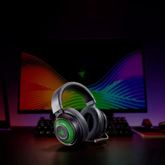 Razer Kraken Ultimate - USB Surround Sound Headset with ANC Microphone - Black (RZ04-03180100-R3M1)