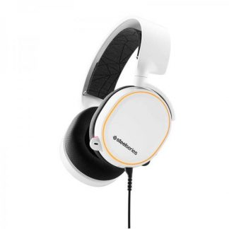 SteelSeries Arctis 5 Gaming Headset White - 2019 Edition (61507)