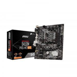 MSI B450M PRO-M2 MAX MOTHERBOARD