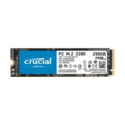 Crucial P2 250GB M.2 NVMe