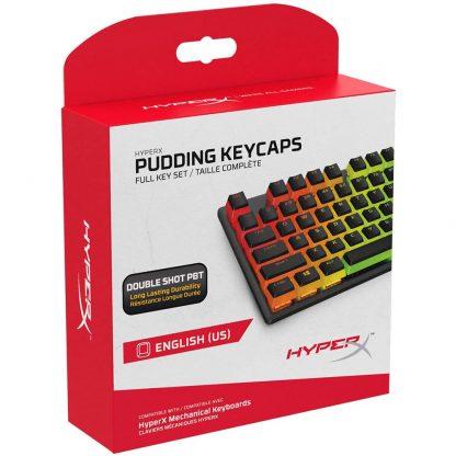HyperX Pudding Keycaps Black