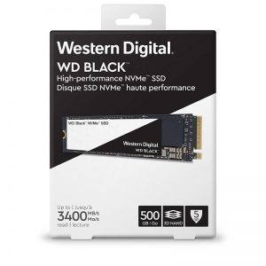 WD 500GB M.2 2280 PC SSD - BLACK